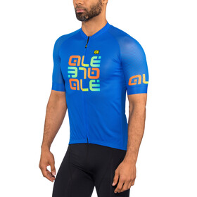 Alé Cycling Solid Mirror Koszulka z krótkim rękawem Mężczyźni, blue